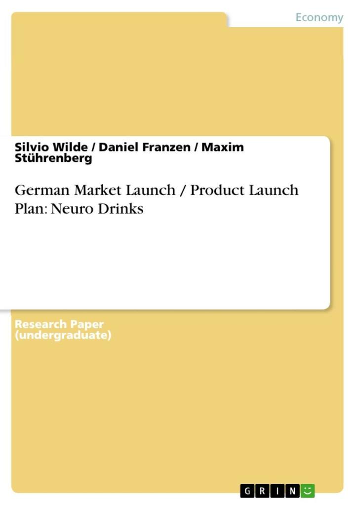 German Market Launch / Product Launch Plan: Neu...