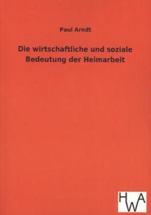 Die wirtschaftliche und soziale Bedeutung der H...