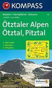 Ötztaler Alpen / Ötztal / Pitztal 1 : 50 000