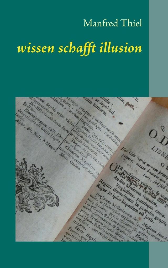 wissen schafft illusion als eBook Download von ...