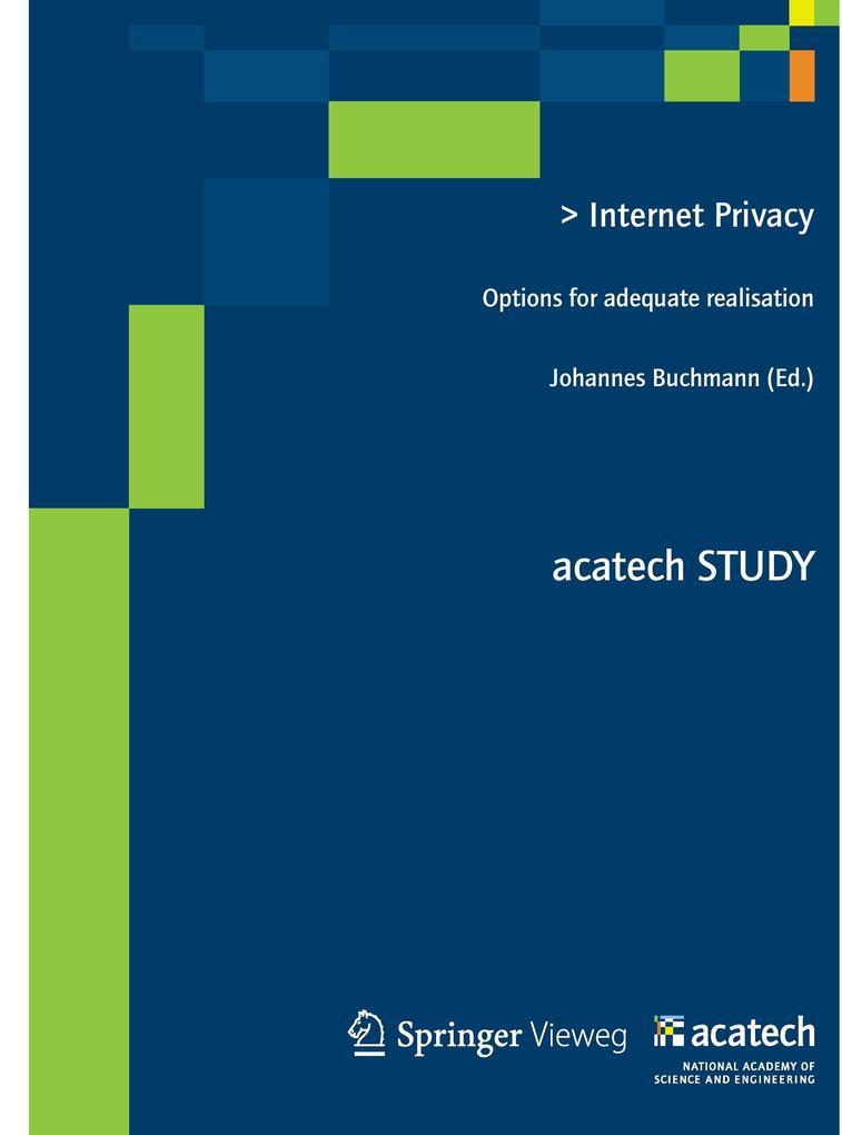 Internet Privacy als Buch von