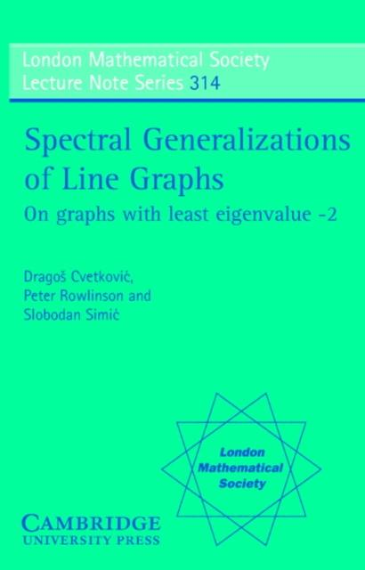 Spectral Generalizations of Line Graphs als eBo...