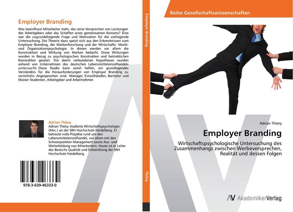 Employer Branding als Buch von Adrian Thöny