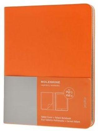 Ipad 3 and 4 Moleskine Cadmium Orange Slim Digi...