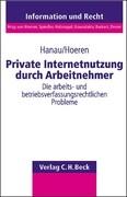 Private Nutzung von Internet-Anschlüssen durch Arbeitnehmer