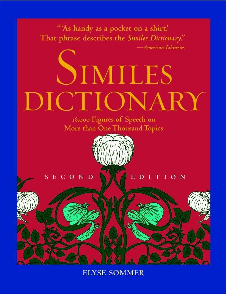 Similes Dictionary als eBook Download von