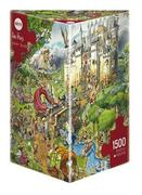 Heye - Dreieckspuzzle 1500 Teile - Hugo Prades, Fairy Tales