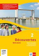 Découvertes Série jaune 2. Cahier d'activités mit CD-ROM, MP3-CD und Video-DVD