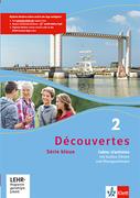 Découvertes Série bleue 2. Cahier d'activités mit CD-ROM, MP3-CD und Video-DVD
