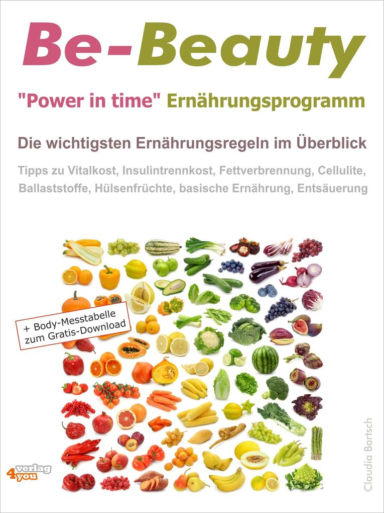 Be-Beauty Power in time Ernährungsprogramm. Die...