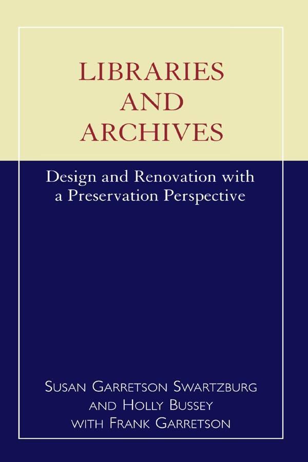 Libraries and Archives als eBook Download von S...