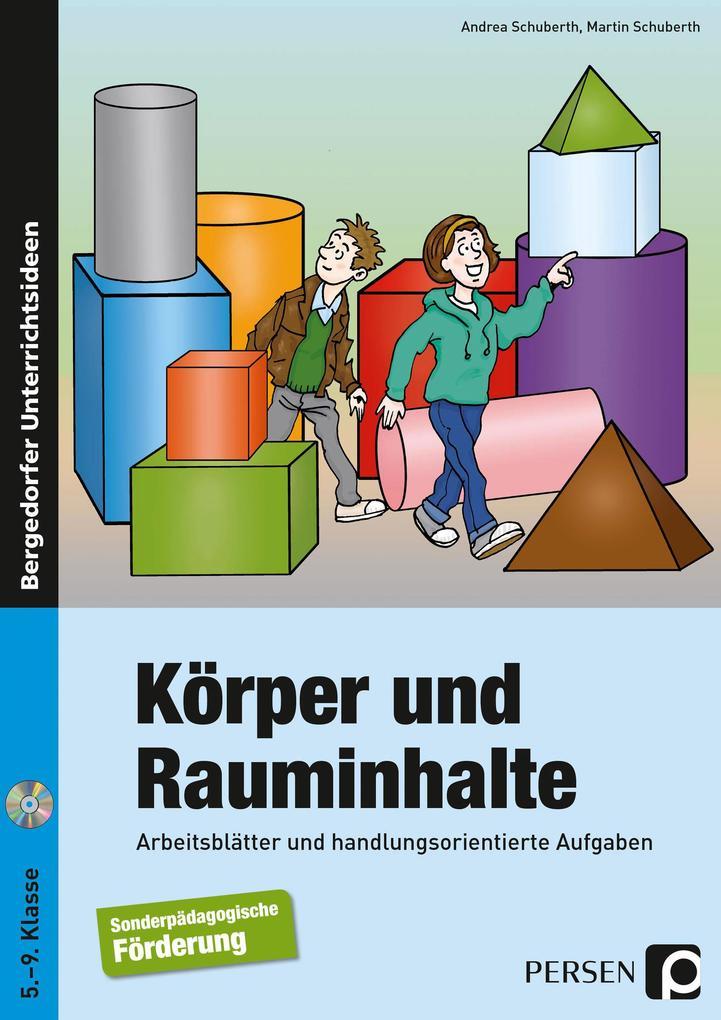 Körper und Rauminhalte als Buch von Andrea Schu...