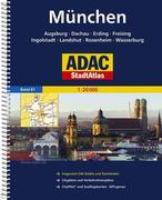 ADAC StadtAtlas Großraum München / Augsburg / Ingolstadt 1 : 20 000