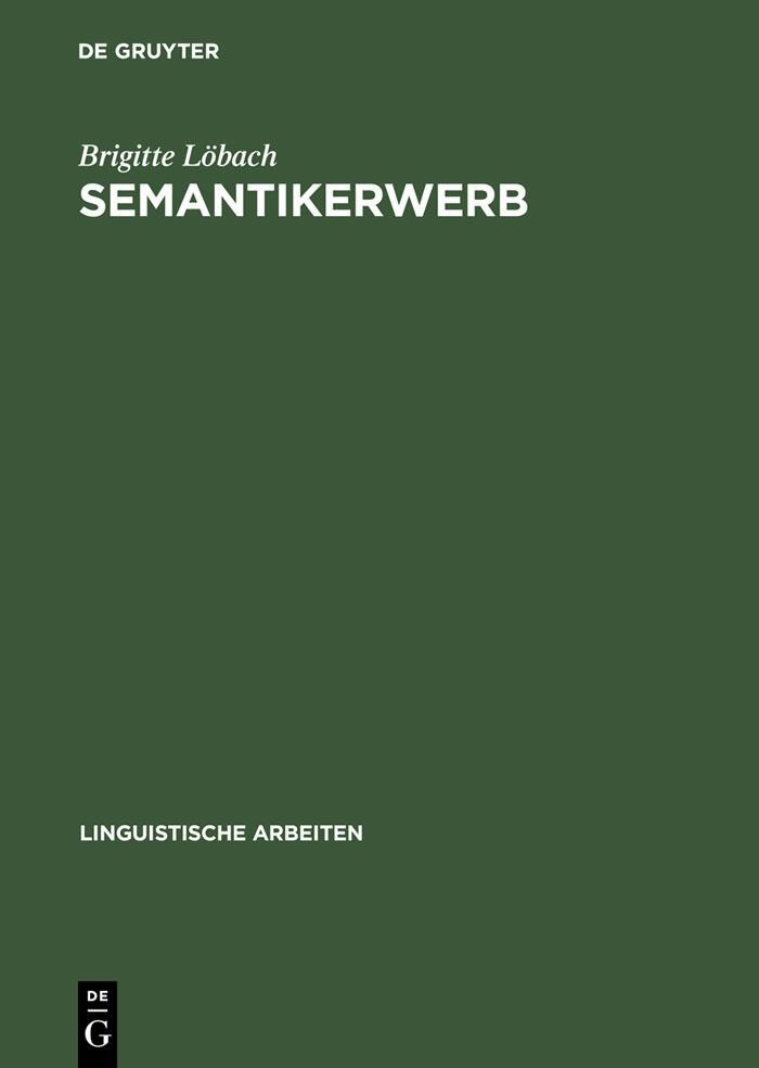Semantikerwerb als eBook Download von Brigitte ...