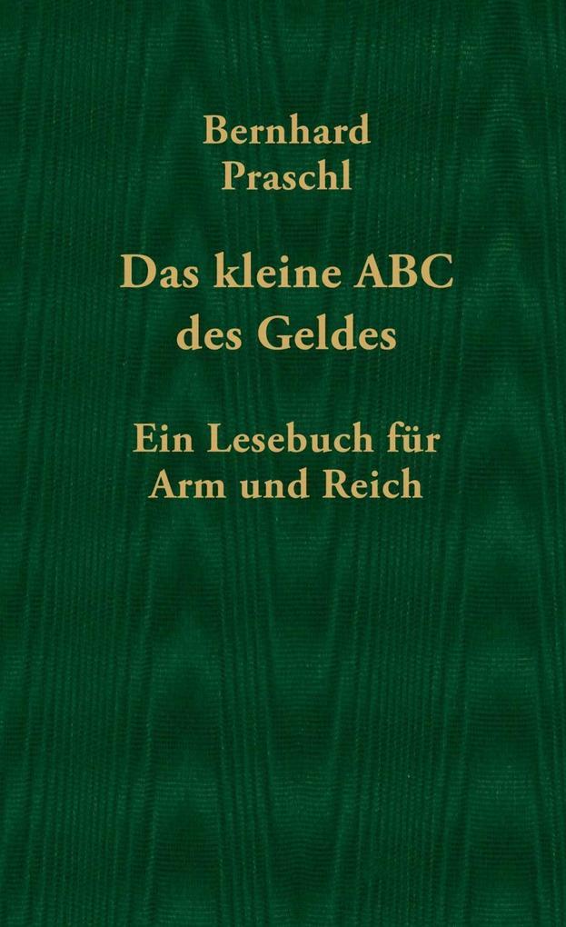 Das kleine ABC des Geldes als eBook Download vo...