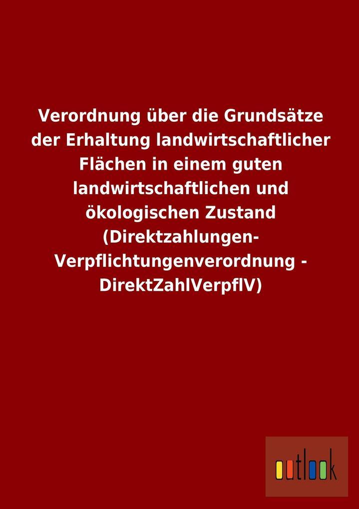 Verordnung über die Grundsätze der Erhaltung la...