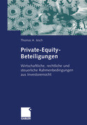 Private-Equity-Beteiligungen