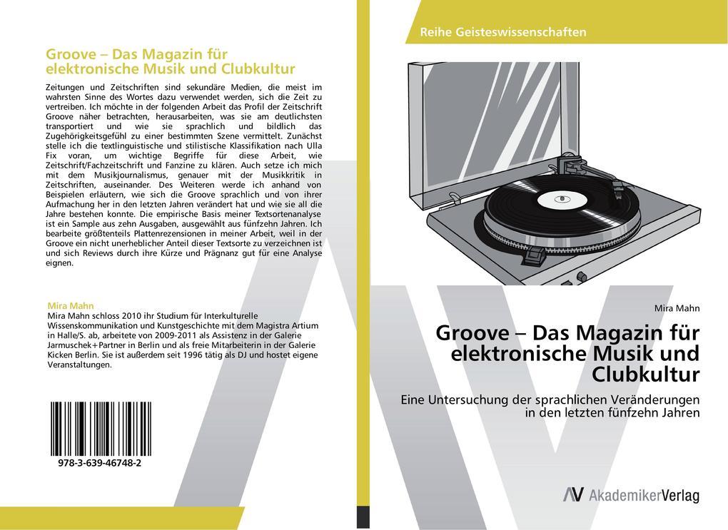 Groove - Das Magazin für elektronische Musik un...