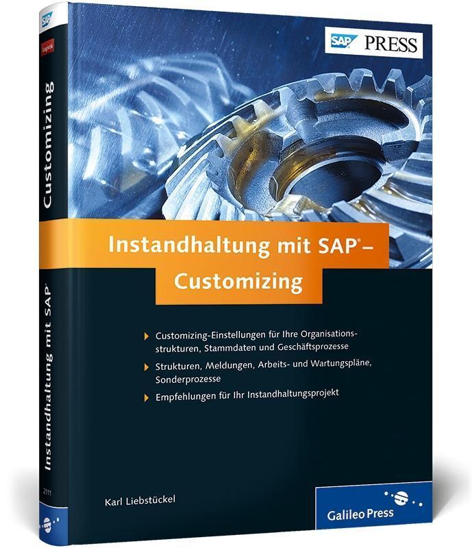 Instandhaltung mit SAP - Customizing als Buch v...