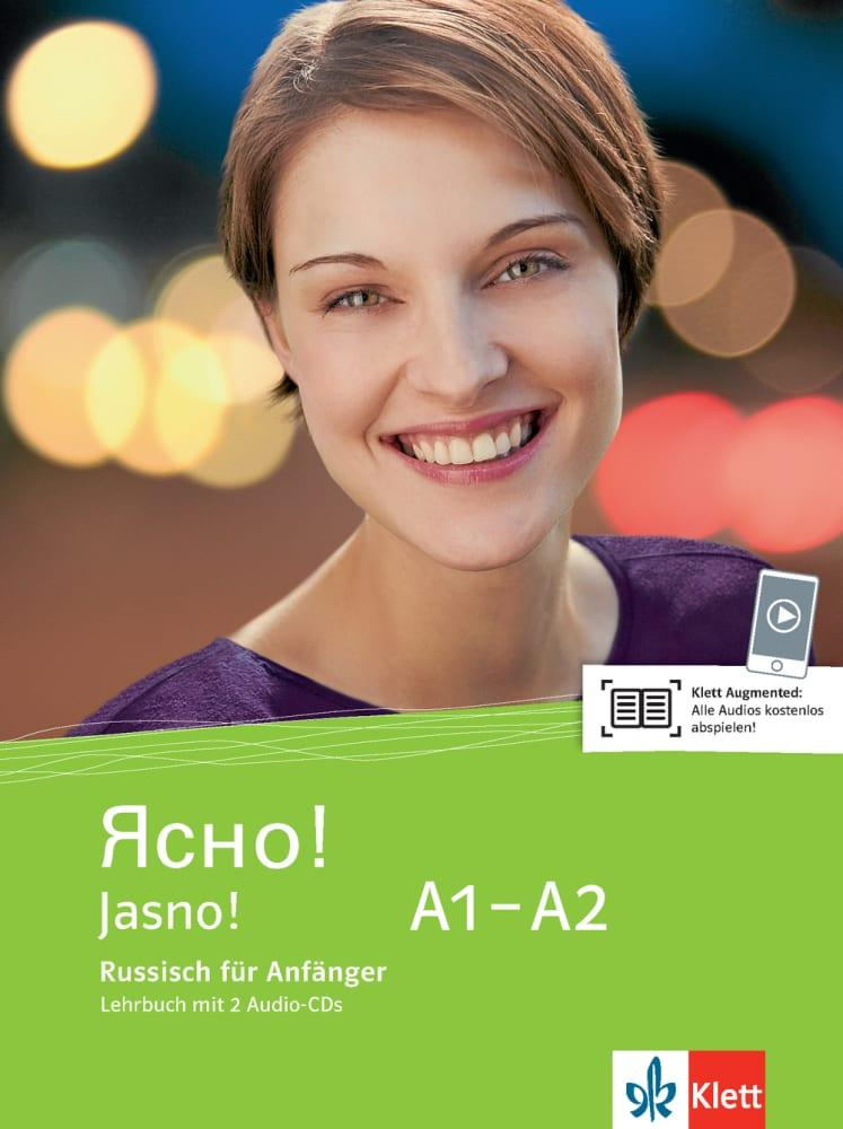 Jasno! Lehrbuch mit 2 Audio-CDs A1-A2 als Buch