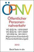 Öffentlicher Personennahverkehr - ÖPNV