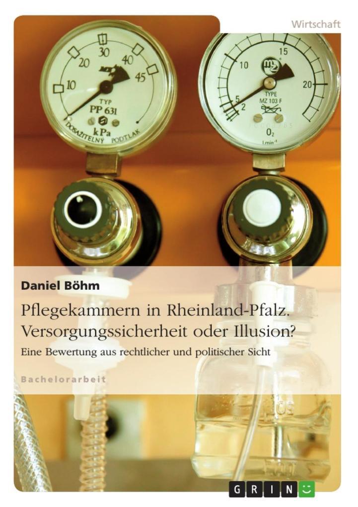 Pflegekammern am Beispiel von Rheinland-Pfalz. ...