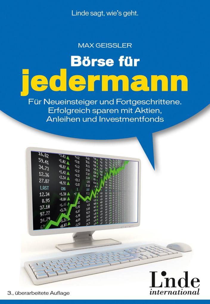 Börse für jedermann als eBook Download von Max ...
