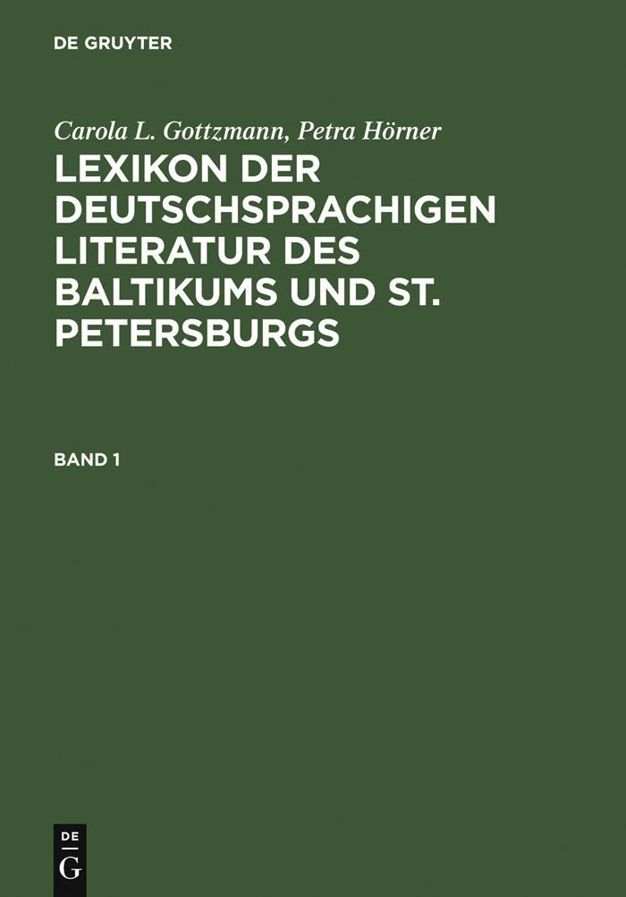 Lexikon der deutschsprachigen Literatur des Bal...