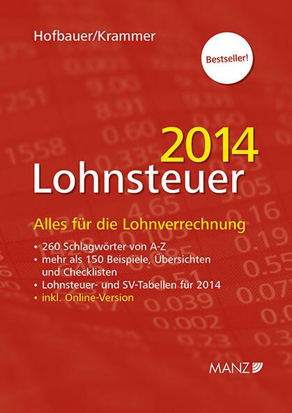 Lohnsteuer 2014 als Buch von Josef Hofbauer, Mi...