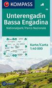 Unterengadin - Nationalpark 1 : 40 000