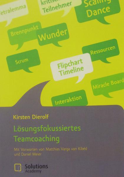 Lösungsfokussiertes Teamcoaching als Buch