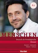 Menschen A2. Glossar plus Deutsch-Italienisch - Tedesco-Italiano
