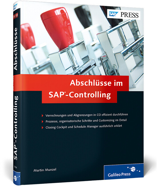Abschlüsse im SAP-Controlling als Buch von Mart...
