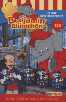 Benjamin Blümchen - In der Spielzeugfabrik, 1 Cassette als Kassette