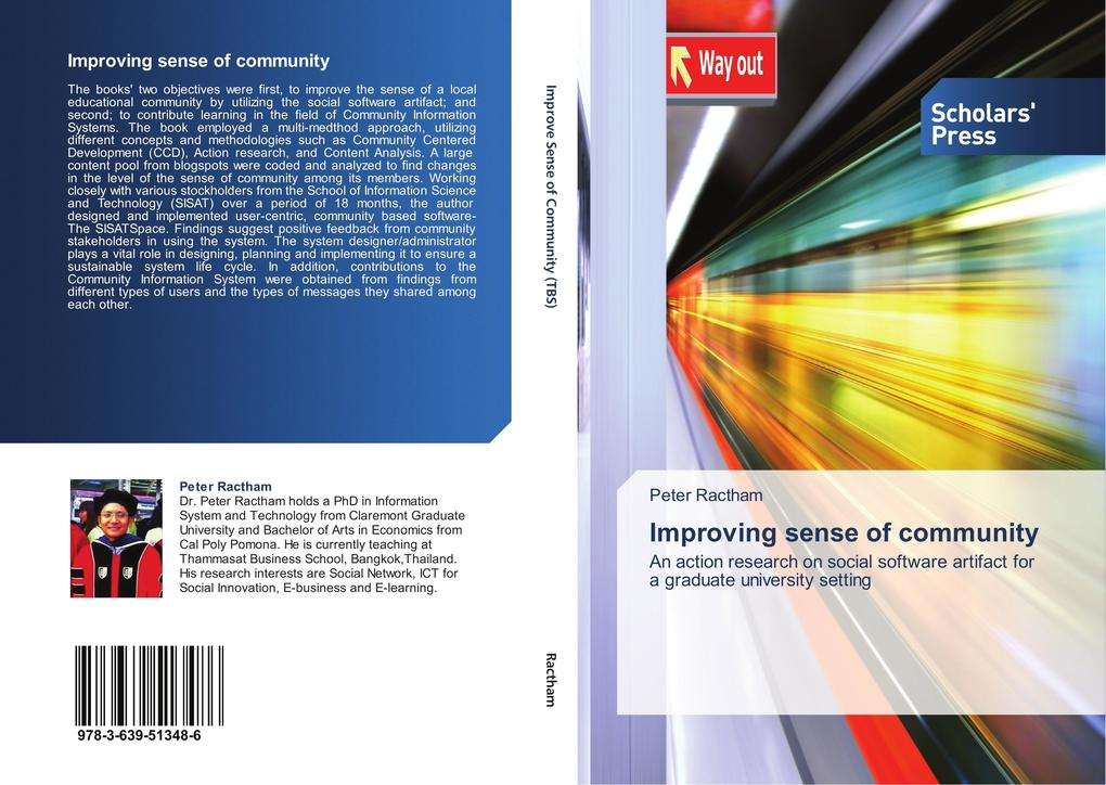 Improving sense of community als Buch von Peter...