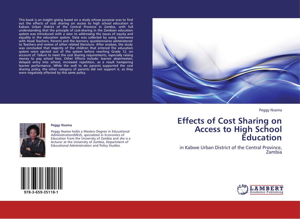 Effects of Cost Sharing on Access to High Schoo...