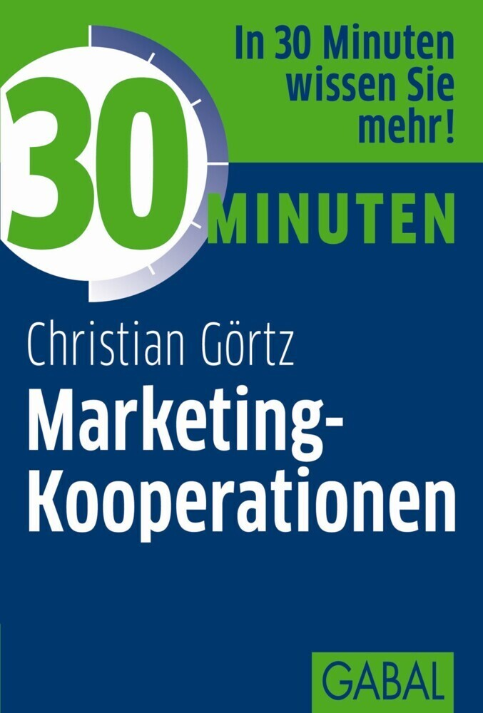 30 Minuten Marketing-Kooperationen als Buch von...