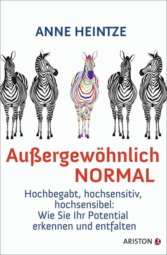 Außergewöhnlich normal als Buch von Anne Heintze