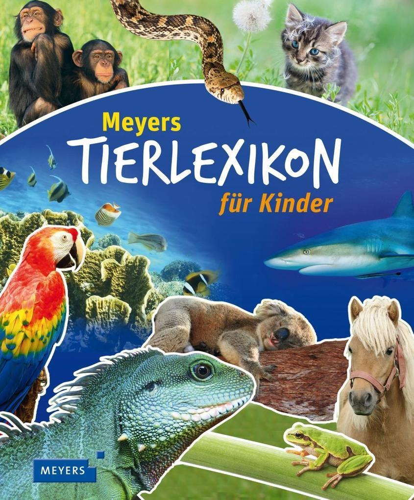 Meyers Tierlexikon für Kinder als Buch