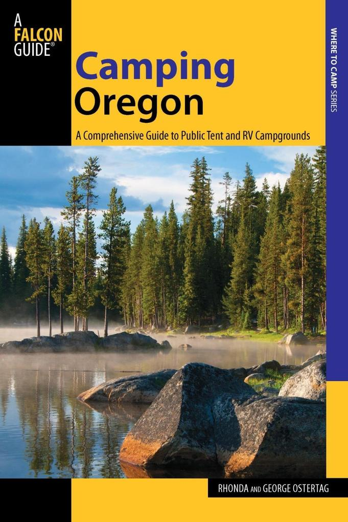 Camping Oregon als eBook Download von Rhonda An...