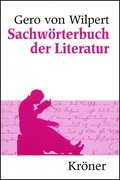 Sachwörterbuch der Literatur