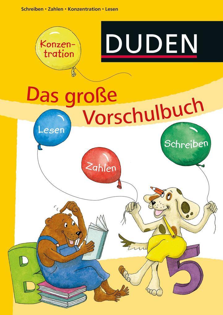 Das große Vorschulbuch als Buch von Ulrike Holz...