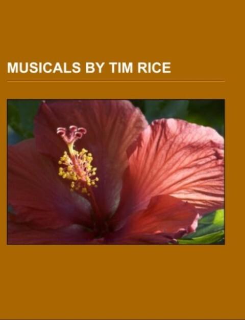 Musicals by Tim Rice als Taschenbuch von