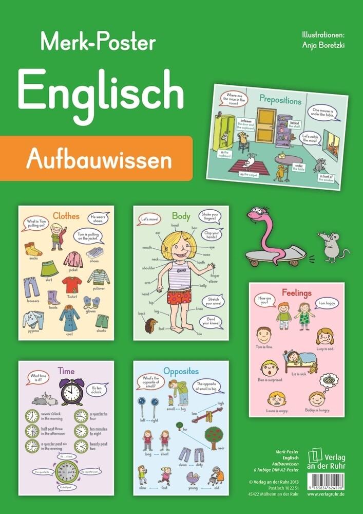 Merk-Poster Englisch Aufbauwissen