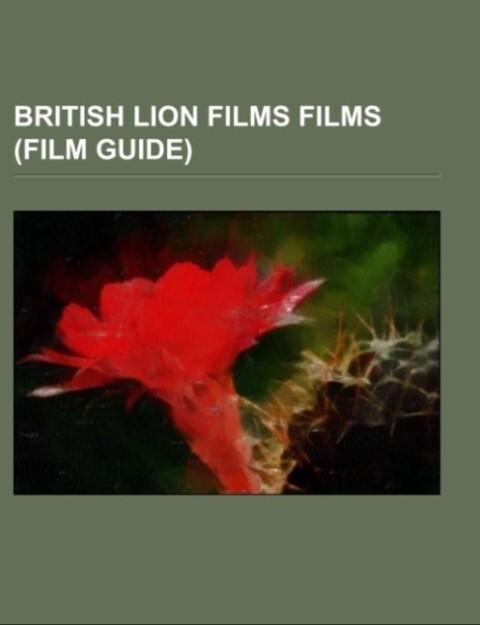 British Lion Films films (Film Guide) als Tasch...