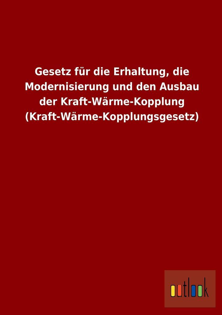 Gesetz für die Erhaltung, die Modernisierung un...