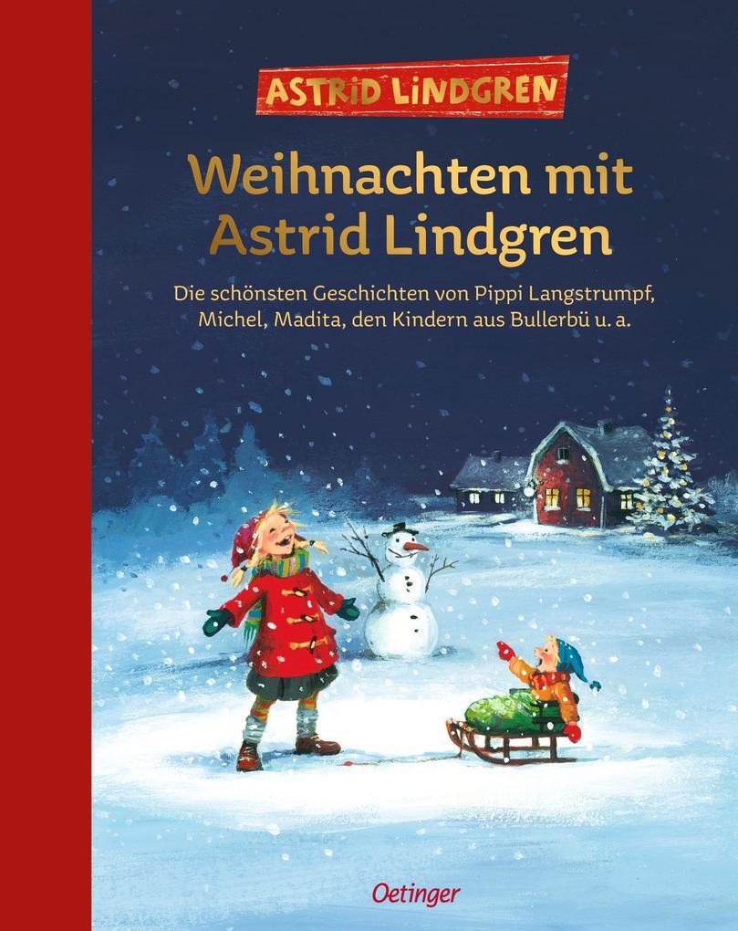Weihnachten mit Astrid Lindgren als Buch