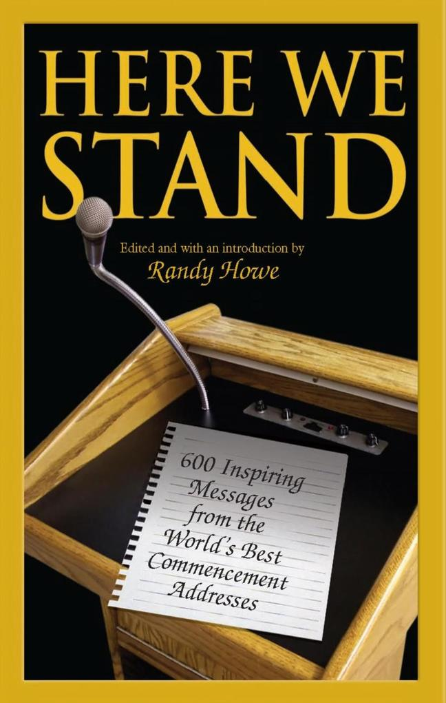 Here We Stand als eBook Download von Randy Howe
