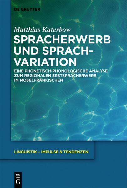 Spracherwerb und Sprachvariation als Buch (gebunden)