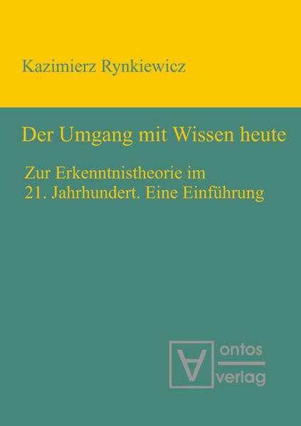 Der Umgang mit Wissen heute als Buch von Kazimi...